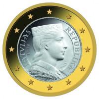 Letonya Euro Bölgesine Giriyor