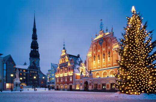 Riga On Christmas Time Imagelarge